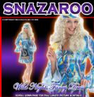 FANCY DRESS COSTUME 70'S GROOVY HIPPIE LADY SM 8-10